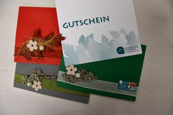 Gutschein vom Gartencenter Grünenfelder im Wert von Fr. 100.-