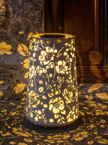 LED Laterne antic Flower