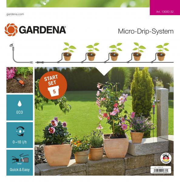 Micro-Drip-System Pflanztöpfe 13000-20