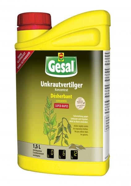 Gesal Unkrautvertilger SUPER-RAPID Konzentrat