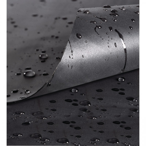PVC-Teichfolie schwarz 0.5 mm 3 x 4 m