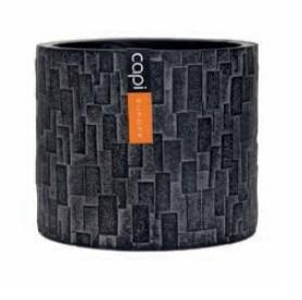 Capi Indoor Stein Schwarz Zylinder