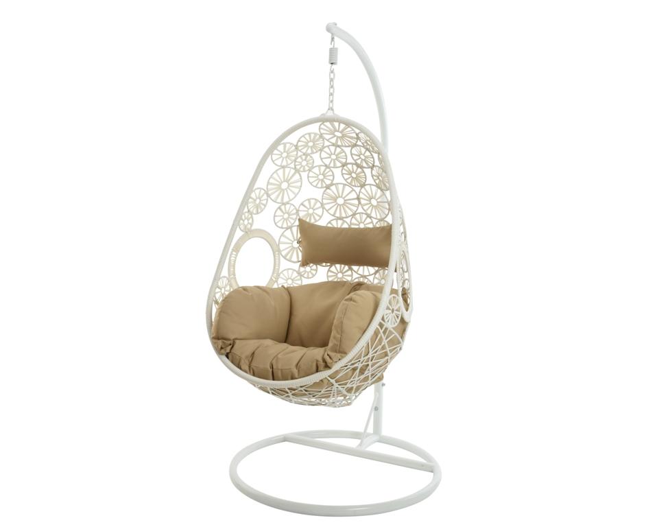 h ngesessel weiss das schweizer online gartencenter. Black Bedroom Furniture Sets. Home Design Ideas