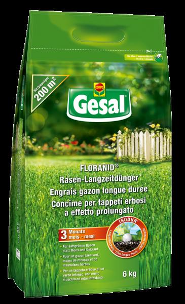Gesal Floranid Rasen-Langzeitdünger 6kg