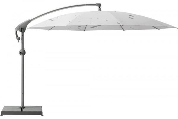 Sonnenschirm Pendalex P+ Sonnenschirm ohne Volant, Gestell Alu eloxiert