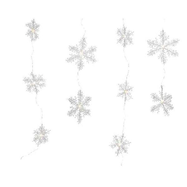 Micro LED Flocken Vorhang