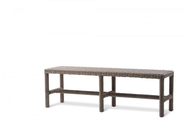 melbourne gartenbank ohne r ckenlehne geflecht 4mm summer grass gr sse 145 gartenb nke hunn. Black Bedroom Furniture Sets. Home Design Ideas