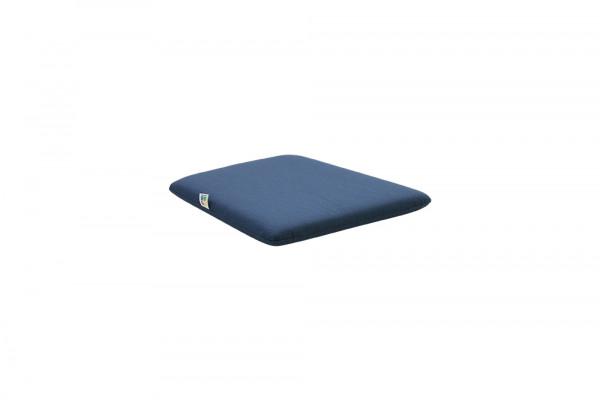 RIM/SAM Sitzkissen ohne Bändel Gartenstuhl Classic blau