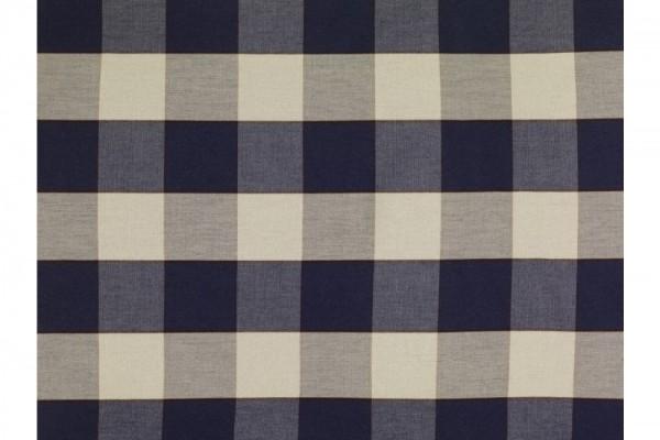 Zierkissen quadratisch Karo Grösse: 38x38