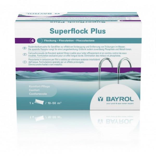 Superflock Plus 1kg - für Kristallklares Wasser