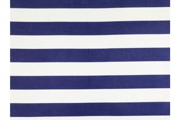 Stoff Breite 130 blau-weiss