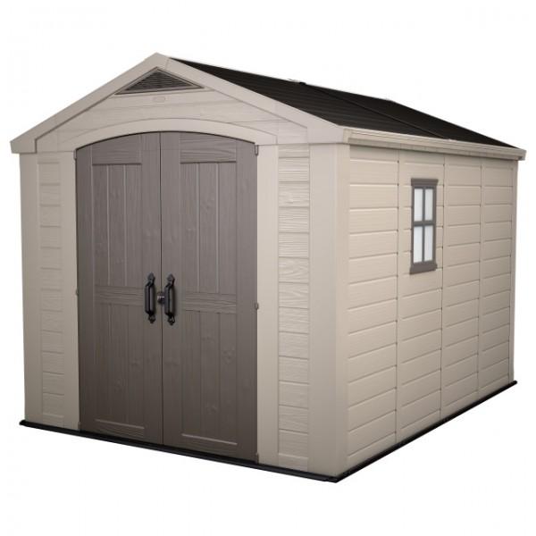 KST-Haus Factor 8x11 taupe/beige 256.5 x 331.5 x 243 cm / H10