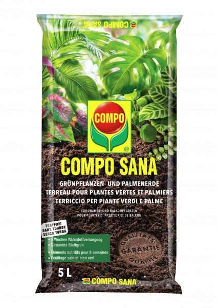 COMPO SANA Grünpflanzen- und Palmenerde - torffrei