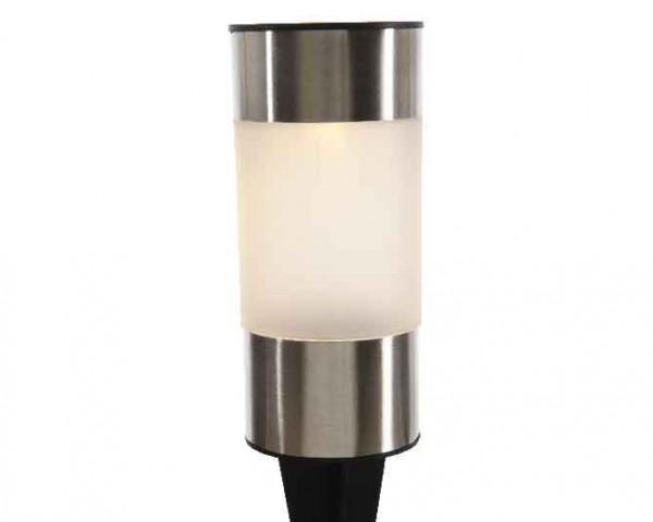LED Solar Edelstahl Leuchten