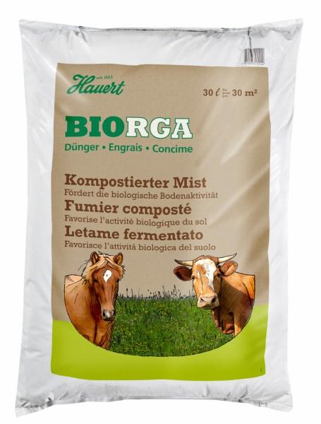 Kompostierter Mist
