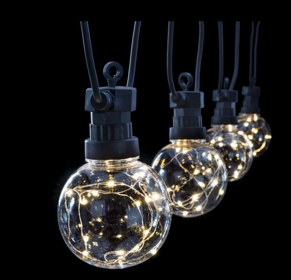 LED Partylichter Schneeball 10