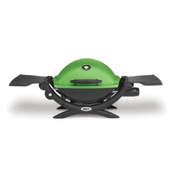 Weber Gasgrill Q 1200 grün
