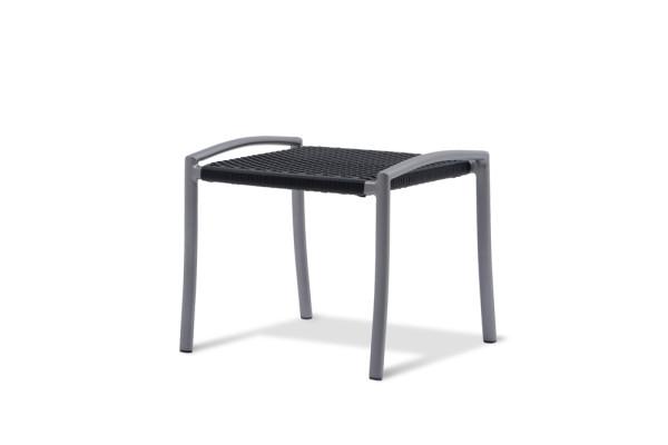 Arcio Hocker Gestell Aluminium graphit