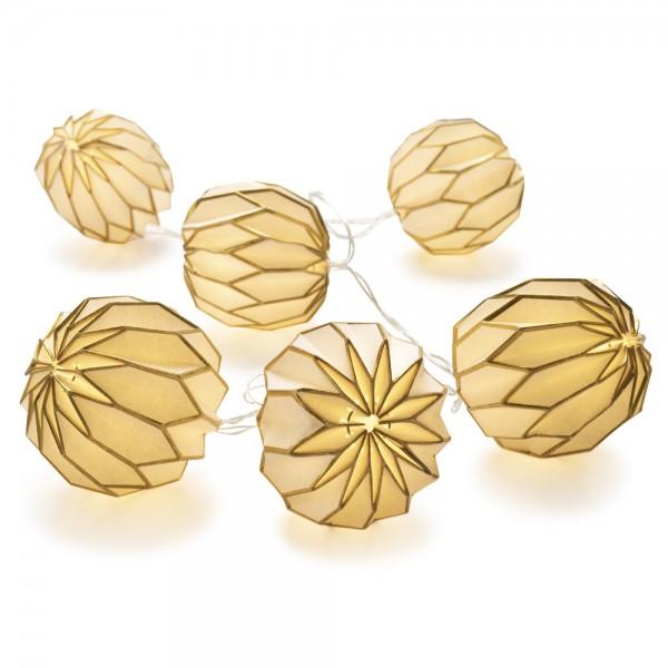 Paper Balls gold Batterie