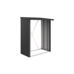 WoodStock Biohort dunkelgrau-metallic
