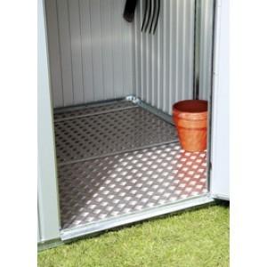 Alu-Bodenplatten für Biohort Geräteschrank