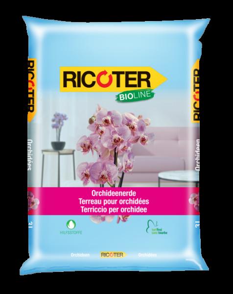 Orchideenerde-ricoter