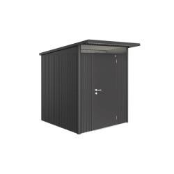 Gerätehaus AvantGarde Biohort dunkelgrau-metallic