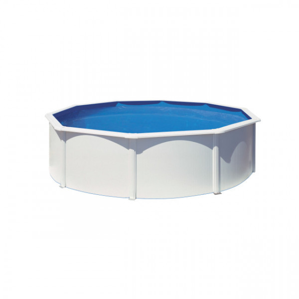 KIT Dream Pool Top rund/Sandf. Eco H2 D460/H120 cm*San Marina*inkl.Heimlief.