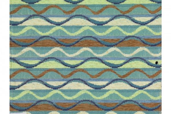 Zierkissen rechteckig Rio Negro blau Grösse: 48x27