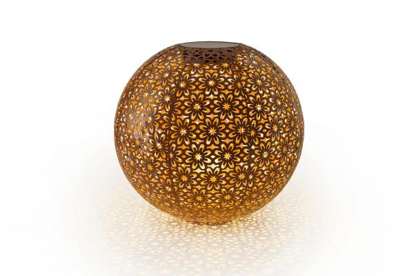 LED Ball antic Flower terracotta