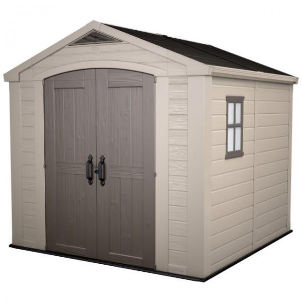 KST-Haus Factor 8x8 taupe/beige 256.5 x 255 x 243 cm / H10