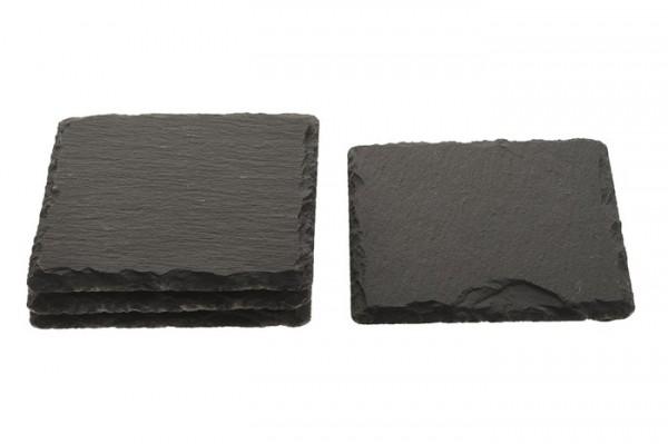 Schieferplatte Stein 10x10cm