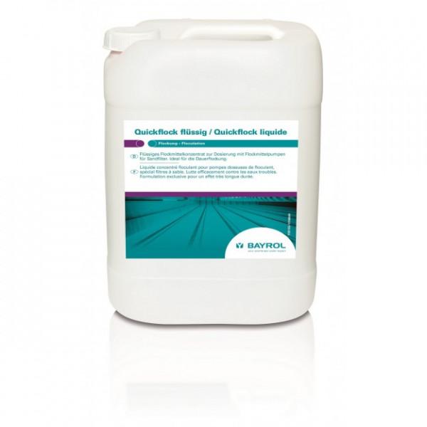 Quickflock flüssig- für Kristallklares Wasser (20kg)