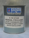 Farbe für graue Everwood-Kunststoff-Verkleidungen