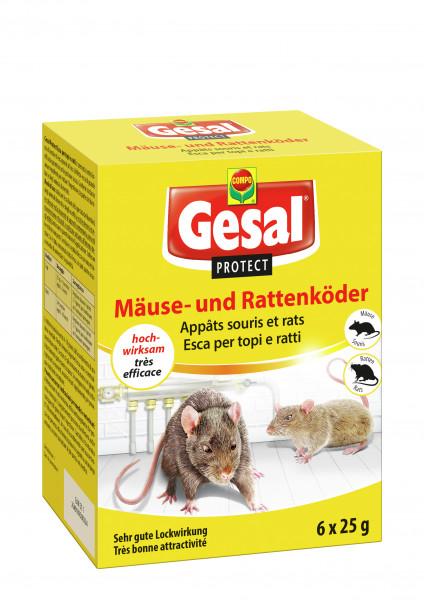 Gesal PROTECT Mäuse- und Rattenköder