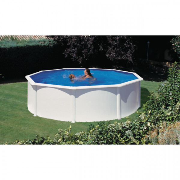 KIT Dream Pool Top rund/Sandf. Eco H2 D350/H120 cm*San Marina*inkl.Heimlief.