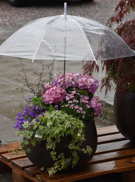 Regenschutzschirm