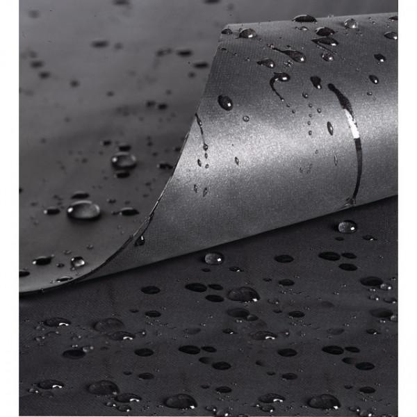 PVC-Teichfolie schwarz 0.5 mm 4 x 4 m