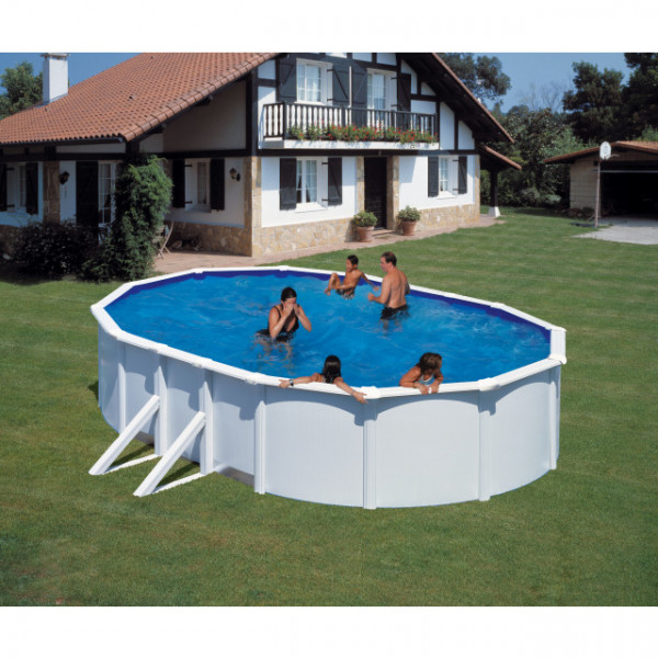 KIT Dream Pool Top oval/Sandf. Eco H2 610 x 375 x 120 cm, inkl.Heimlieferung