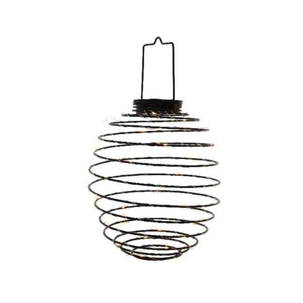 LED Metalldraht Laterne