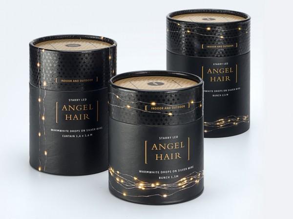 LED Angel Hair, silber
