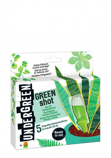 GREEN SHOT Kur für Grünpflanzen